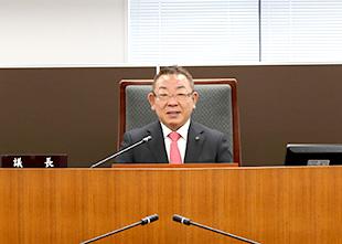 第62代草加市議会議長就任のイメージ